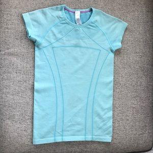 blue ivivva fly tech shirt